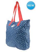 CONVERSE Beach Tote Shopper Bag sc blue micro star dot print