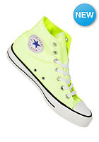 CONVERSE Chuck Taylor All Star B.Washed Hi neon yellow