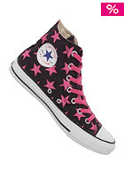 CONVERSE Chuck Taylor All Star Basic Star Hi Canvas black/carmine rose