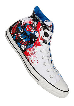 CONVERSE Chuck Taylor All Star Comic Hi Tex white/red/blue