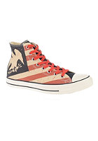 CONVERSE Chuck Taylor All Star Hi black/fire brick/natural