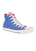 CONVERSE Chuck Taylor All Star Hi blue/white/red