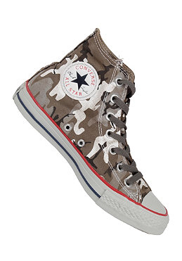 CONVERSE Chuck Taylor All Star Hi Camo Canvas charcoal/black/white