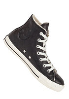 CONVERSE Chuck Taylor All Star Hi Leather Shearling black