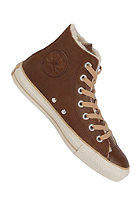 CONVERSE Chuck Taylor All Star Hi Leather Shearling dark earth