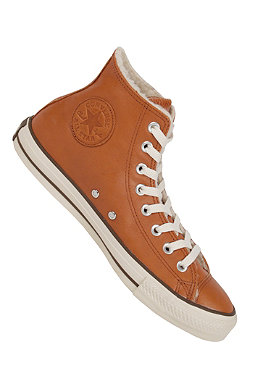 CONVERSE Chuck Taylor All Star Hi Leather Shearling glazed ginger
