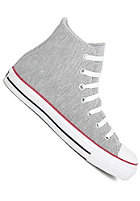 CONVERSE Chuck Taylor All Star Hi Sweatshirt grey/red/black