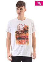CONVERSE City Scape S/S T-Shirt white