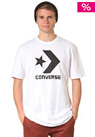 CONVERSE Cons Str Chevron Crew S/S T-Shirt bright white