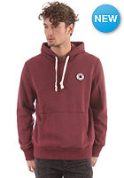 CONVERSE Core C Patch Hooded Sweat burgundy