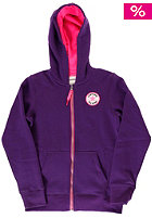 CONVERSE Core Patch + Graphik Hooded Zip Sweat acai