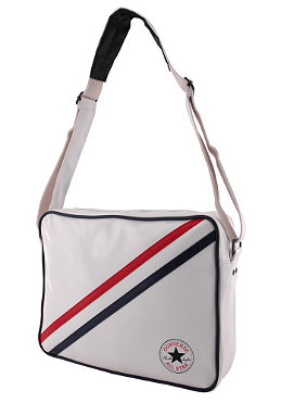 CONVERSE CT Patch Stripe Shoulder Bag white