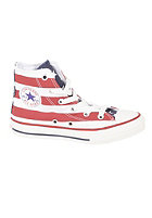 CONVERSE Kids Chuck Taylor All Star Hi Can Stars & Bars stripes