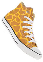 CONVERSE Kids Chuck Taylor All Star Print Hi yellow