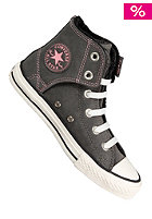 CONVERSE KIDS/ Easy Slip Hi Leather charcoal/egret