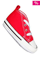 CONVERSE KIDS/ First Star Hi Can red