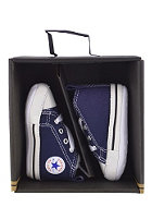 CONVERSE KIDS/ First Star Hi Canvas navy
