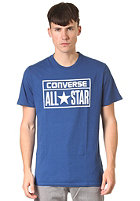 CONVERSE License Plate Crew S/S T-Shirt midnight lake