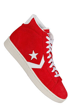CONVERSE Pro Leather Nid Suede varsity red/white