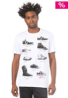 CONVERSE Shoe Diagram Crew S/S T-Shirt bright white