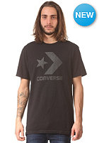 CONVERSE Spray Star Chevron Reflect S/S T-Shirt jet black