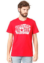 CONVERSE Spry PNTD LP Crew S/S T-Shirt =642 red