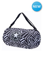 CONVERSE Standard Poly Duffle Bag b&s black white print