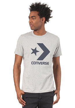 CONVERSE Star Chevron S/S T-Shirt grey melange