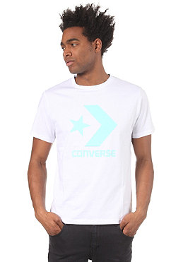 CONVERSE Star Chevron S/S T-Shirt white