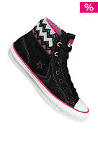 CONVERSE Star Player Sock black/rasberry/white/charcoal