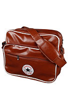 CONVERSE Vintage Patch PU Shoulder Bag light cognac