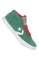CONVERSE Wells Mid Suede pine green/white/varsity red