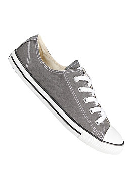CONVERSE Womens All Star Dainty Ox Canvas charcoal
