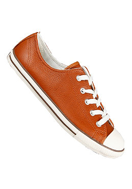 CONVERSE Womens All Star Dainty Ox Leather ginger/egret