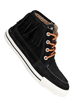 CONVERSE Womens All Star Moc Fringe Mid Suede black