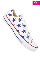 CONVERSE Womens Chuck Taylor All Star Basic Star Ox Canvas white/deep ultramarine