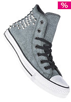 Womens Chuck Taylor All Star Collar Studs Hi black
