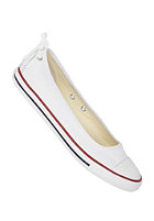 CONVERSE Womens Chuck Taylor All Star Dainty Ballerina Slip Ox Canvas white