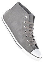 CONVERSE Womens Chuck Taylor All Star Dainty Mid charcoal
