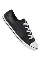 CONVERSE Womens Chuck Taylor All Star Dainty Ox Leather black