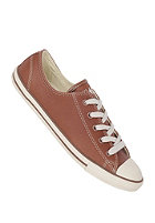 CONVERSE Womens Chuck Taylor All Star Dainty Ox Leather brown