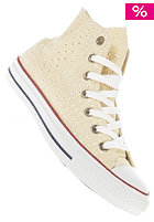 CONVERSE Womens Chuck Taylor All Star Eyelet Hi Cotton natural