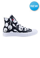 CONVERSE Womens Chuck Taylor All Star Hi black/white