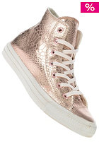 CONVERSE Womens Chuck Taylor All Star Hi Glam Suede rose gold