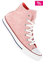 CONVERSE Womens Chuck Taylor All Star Hi Wool red
