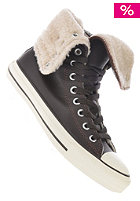 Womens Chuck Taylor All Star Knee Hi Shearling mole