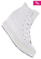 CONVERSE Womens Chuck Taylor All Star Platform Plus Hi Canvas wht