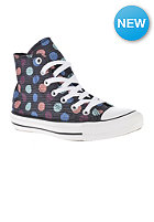 CONVERSE Womens Chuck Taylor All Star Polka Dot Print Hi grey