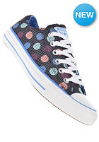 CONVERSE Womens Chuck Taylor All Star Polka Dot Print Ox grey