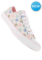 CONVERSE Womens Chuck Taylor All Star Polka Dot Print Ox white
